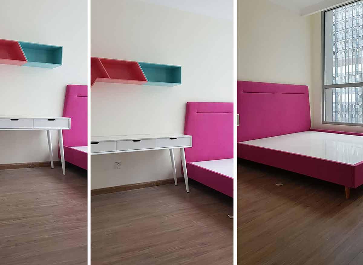 Thi công hoàn thiện nội thất căn hộ Vinhomes Central Park 70m2